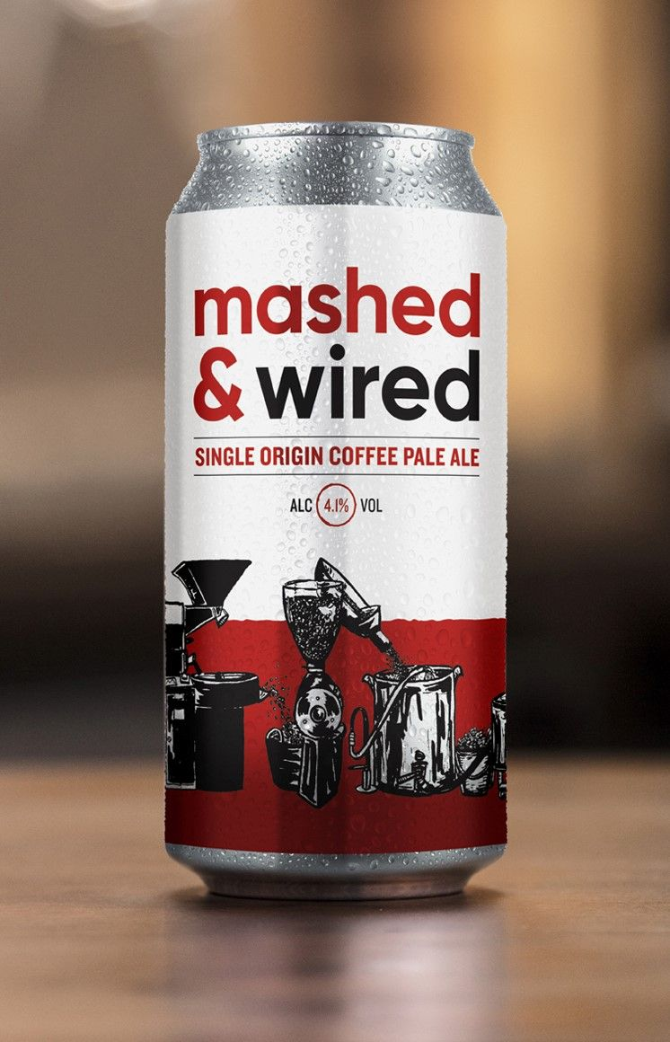 Mashed & Wired – Coffee Pale Ale