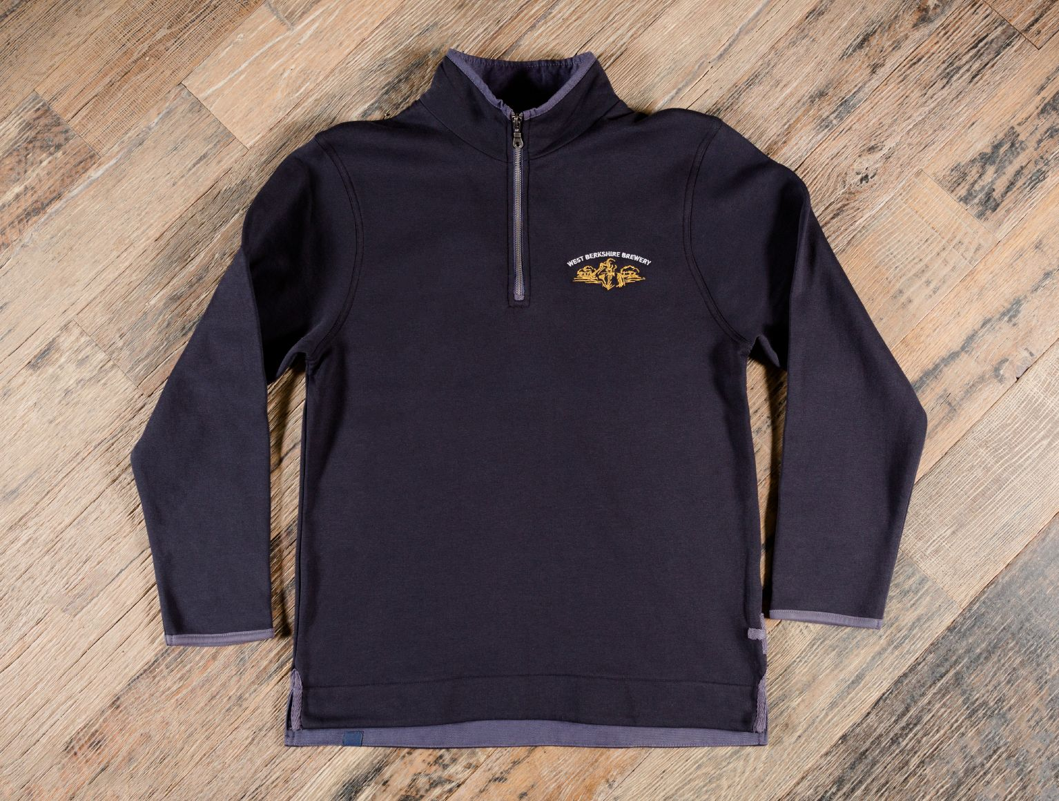 West berkshire brewery zipped sweater