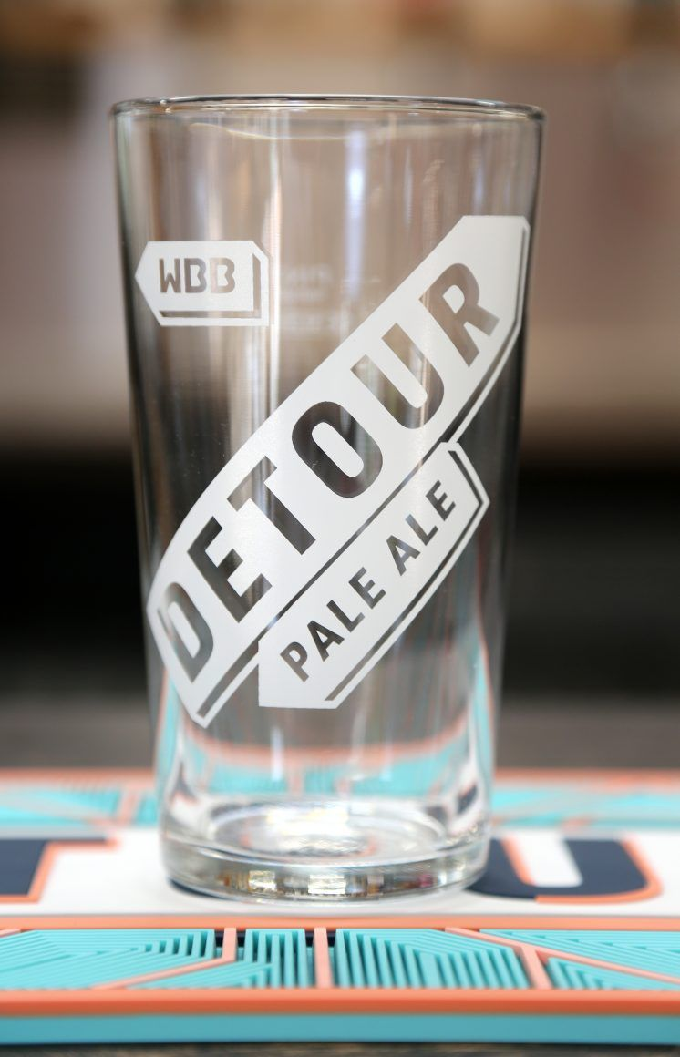 Detour Pint Glass